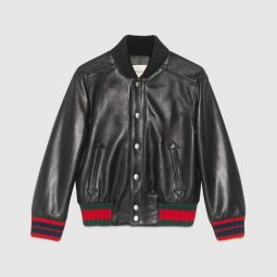 Childrens leather jacket, 4-6 years