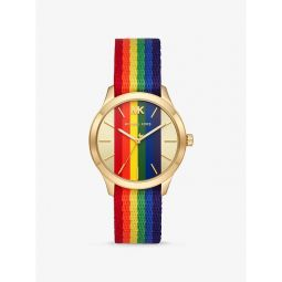 Runway Rainbow and Gold-Tone Watch
