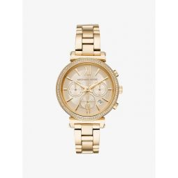 Sofie Pave Gold-Tone Watch