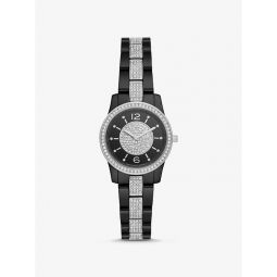 Petite Runway Pave Ceramic Watch