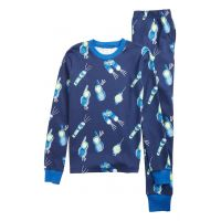Mini Boden Glow in the Dark Fitted Two-Piece Pajamas