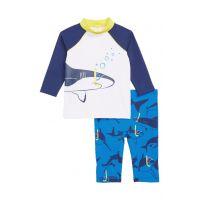 Mini Boden Surf Suit Two-Piece Rashguard Swimsuit