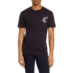 Embroidered Shark T-Shirt
