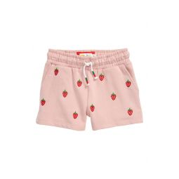 Embroidered Jersey Shorts