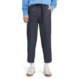 Pull-On Taper Leg Jeans