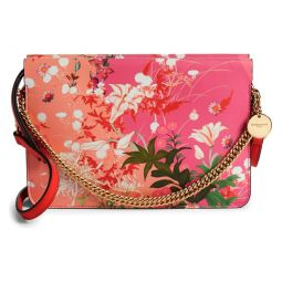 Aroma Leather Floral Crossbody Bag