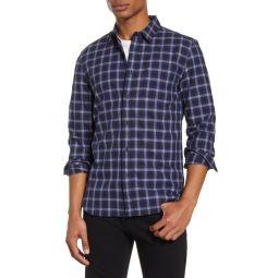 Grindle Regular Fit Plaid Button-Up Shirt