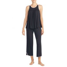 crop jersey pajamas