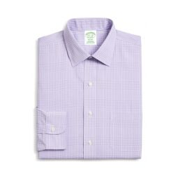 Trim Fit Plaid Dress Shirt