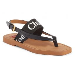 Woody Logo Sandal