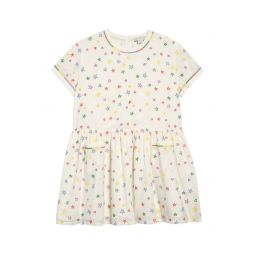 Stella McCartney Star Embroidered Organic Cotton Dress