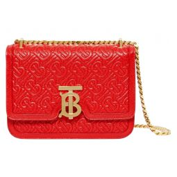 Small TB Monogram Quilted Leather Bag