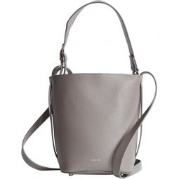 Hudson Mini Leather Bucket Bag