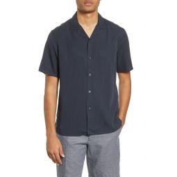 Short Sleeve Button-Up Camp Shirt