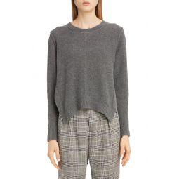 Side Slit Cashmere Sweater