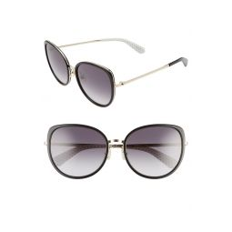 jensen 57mm gradient sunglasses
