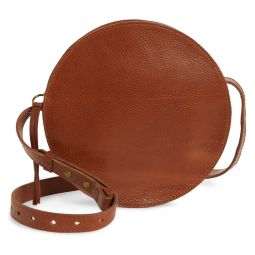 The Simple Circle Leather Crossbody Bag