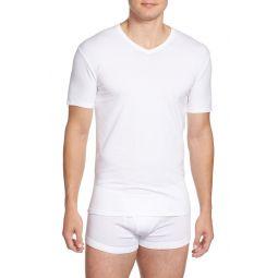 2-Pack Stretch Cotton T-Shirt
