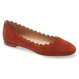 Lauren Scalloped Ballet Flat