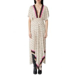 Racheline Print Maxi Dress