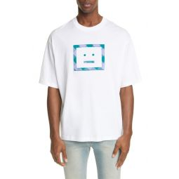 Erian Check Face T-Shirt