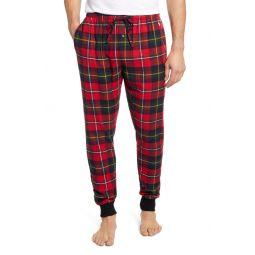 Plaid Flannel Jogger Pajama Bottoms