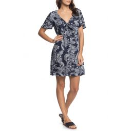 Summer on Top Knot Front Dress