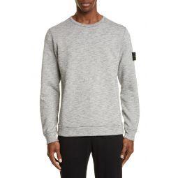 Melange Fleece Crewneck Sweatshirt