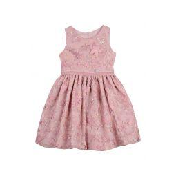 Sequin & Star Applique Fit & Flare Dress
