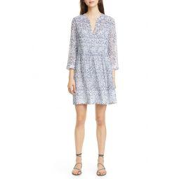 원피스Odhette Floral Silk Shift Dress