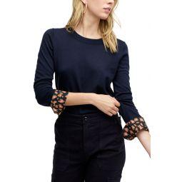 Leopard Cuffs Tippi Sweater