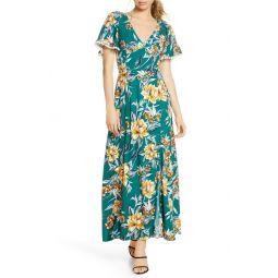 Claribel Floral Maxi Dress