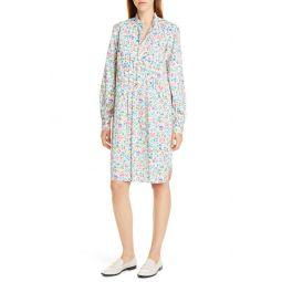 Siena Long Sleeve Floral Shirtdress