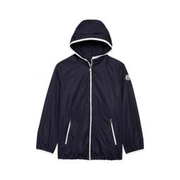 Water Repellent Full Zip Nylon Jacket