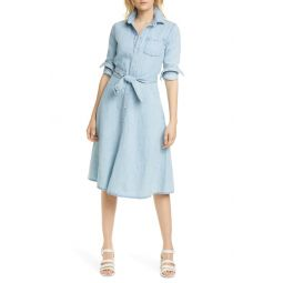 Pinto Long Sleeve Chambray Shirtdress