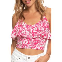 Electric Feels Popover Crop Tank