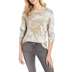 Willy Camouflage Linen Tee