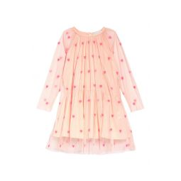 Stella McCartney Heart Embroidered Tulle Dress