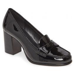 Buchanan Block Heel Loafer