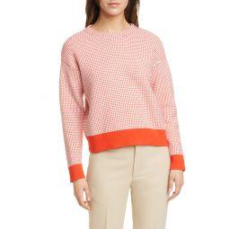 Tricolor Stitch Sweater