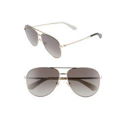 isla 61mm aviator sunglasses