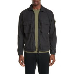 Two-Pocket Shirt Jacket