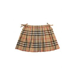 Pearly Check Skirt