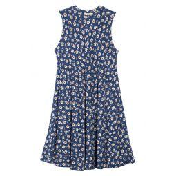 Print Sleeveless Knit Dress