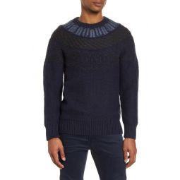 Regular Fit Fair Isle Sweater