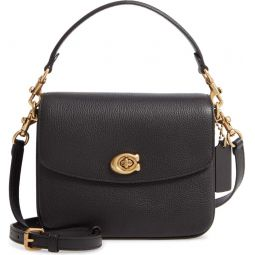 Cassie Leather Top Handle Bag