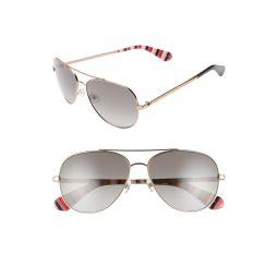 avaline 2 58mm polarized aviator sunglasses