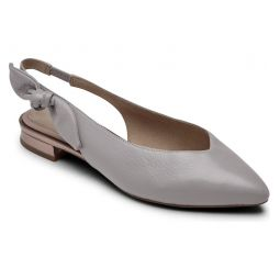 Total Motion Zuly Bow Slingback Flat