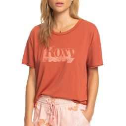 Dont Look Back Crop Graphic Tee