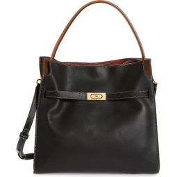 Lee Radziwill Leather Double Bag
